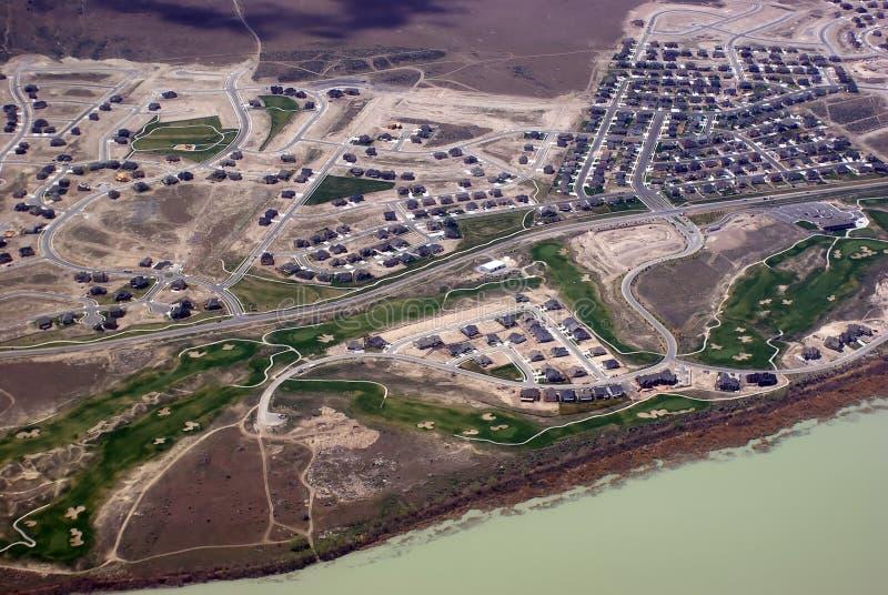 Visión aérea imagen de archivo libre de regalías