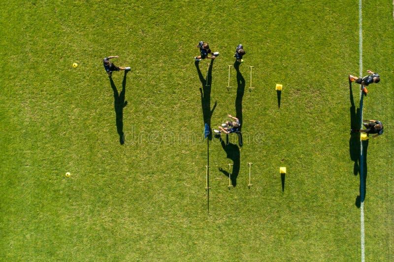 Visión aérea desde el centro de deporte de Horst de los Países Bajos du imágenes de archivo libres de regalías