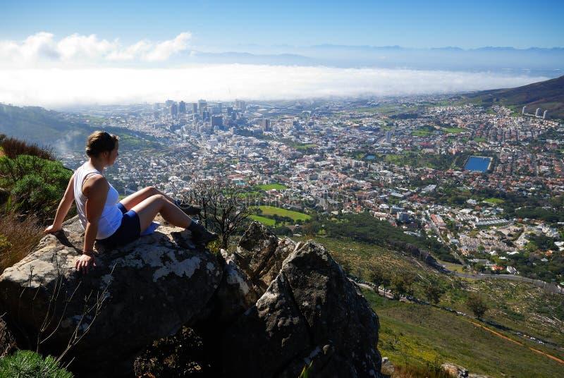 Visión Ciudad del Cabo foto de archivo libre de regalías