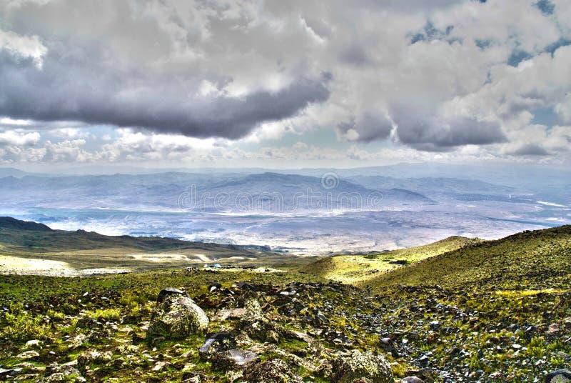 Visión desde Ararat fotos de archivo libres de regalías