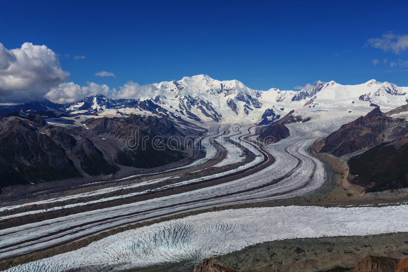 Visión desde el pico de Donoho imagen de archivo