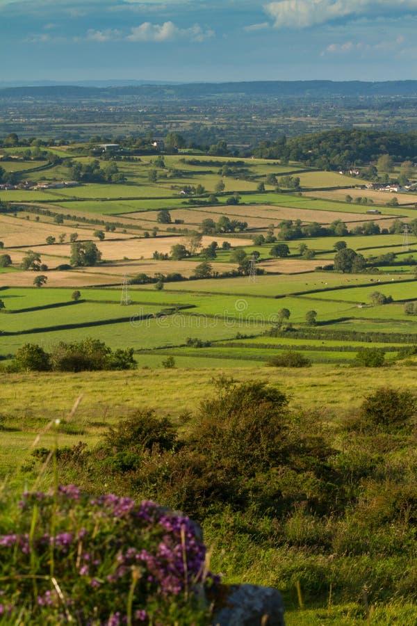 Visión desde el pico Somerset del ladrón imágenes de archivo libres de regalías