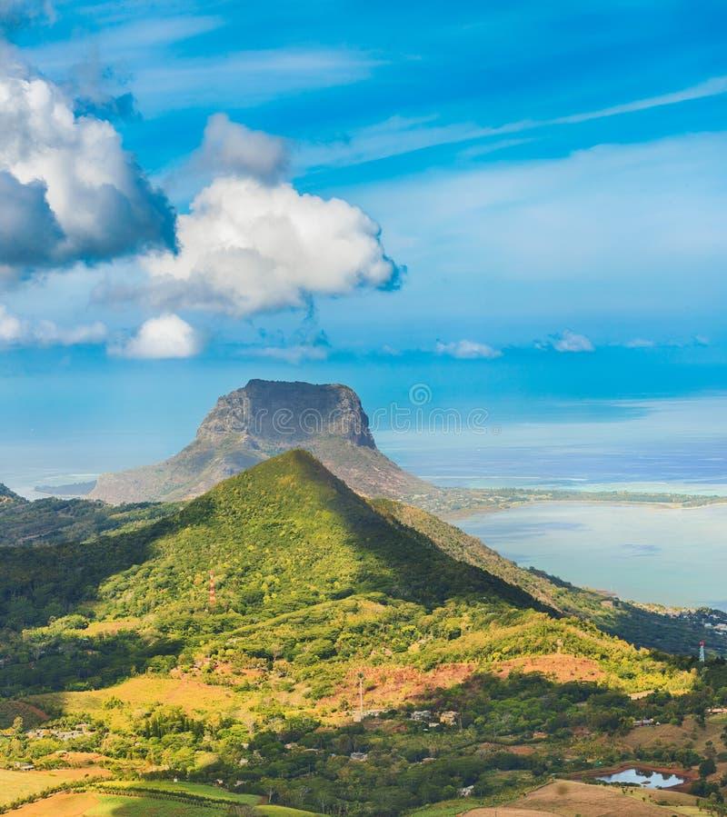 Visión desde el punto de vista mauritius foto de archivo libre de regalías