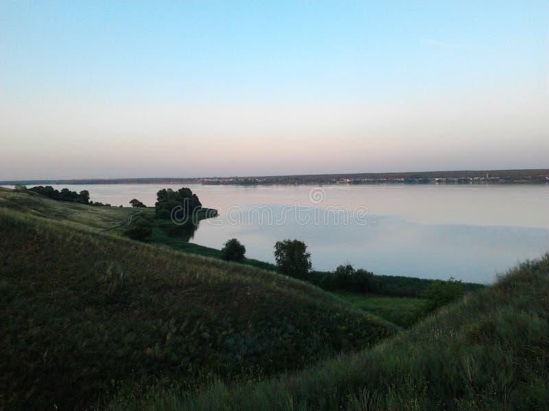 Visión desde la colina fotografía de archivo
