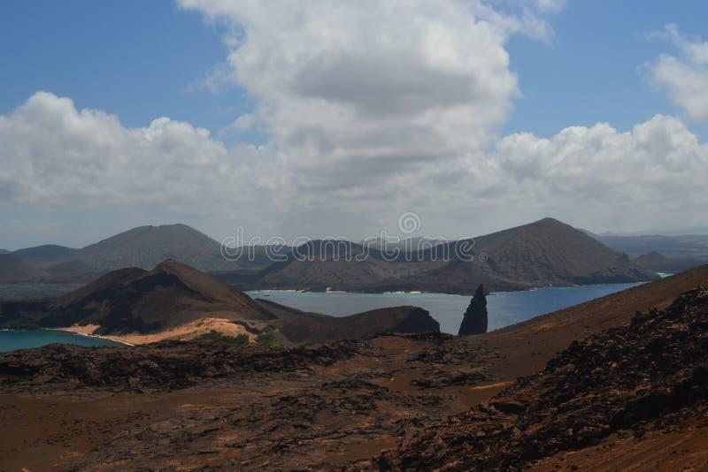 Visión desde la isla de Bartolome fotografía de archivo libre de regalías