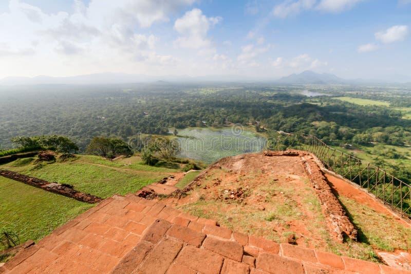 Visión desde la montaña del ` s del león foto de archivo