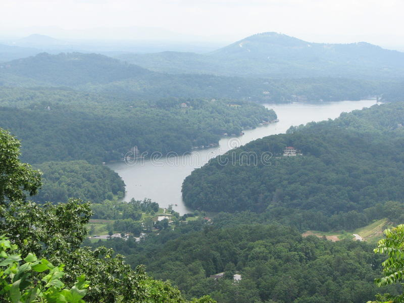 Visión desde la roca fotografía de archivo