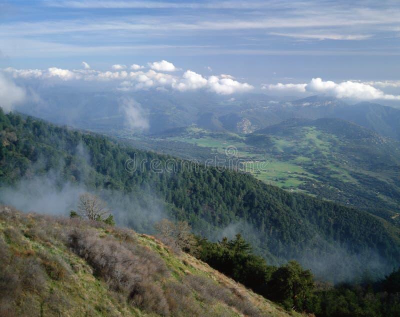 Visión desde Mt. Palomar imagen de archivo libre de regalías