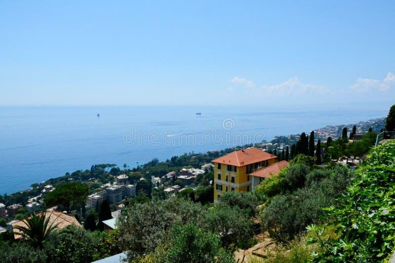 Visión desde Sant'Ilario fotos de archivo