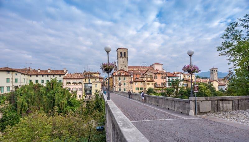 Visión en el Cividale del Friuli fotos de archivo libres de regalías