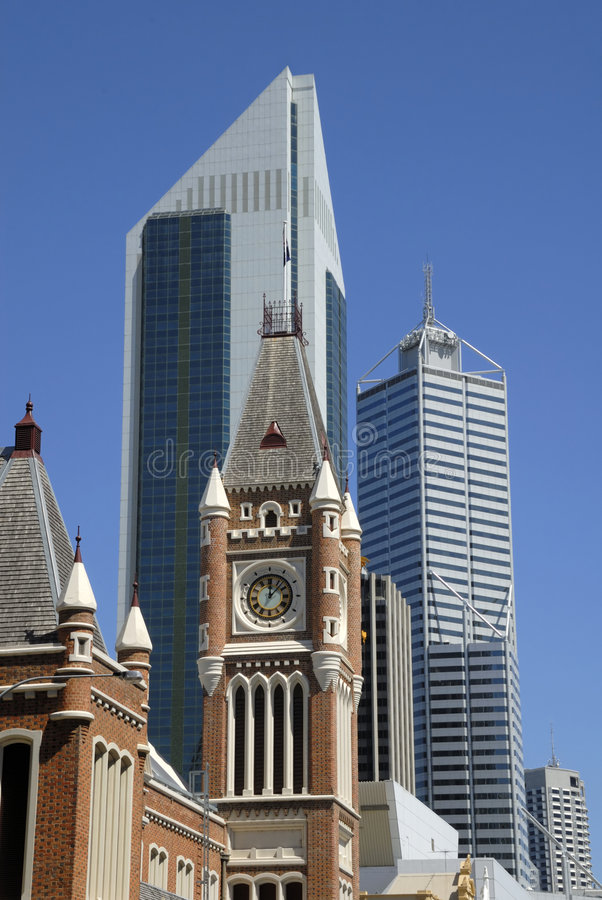 Visión en el Midtown Perth imagenes de archivo
