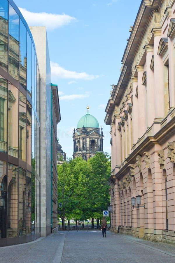 Visión en la iglesia de Berlin Cathedral, Alemania imagen de archivo libre de regalías