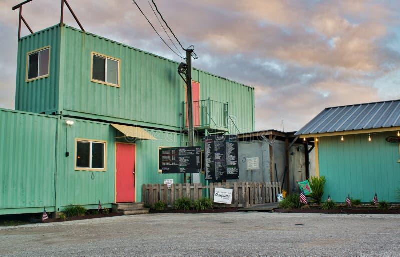 Visión general del restaurante That One Place en Humble, TX fotos de archivo