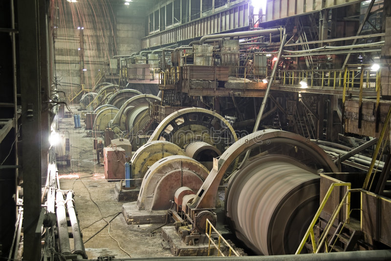 Visión industrial foto de archivo