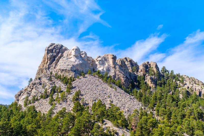 Visión od el monumento nacional del monte Rushmore fotos de archivo