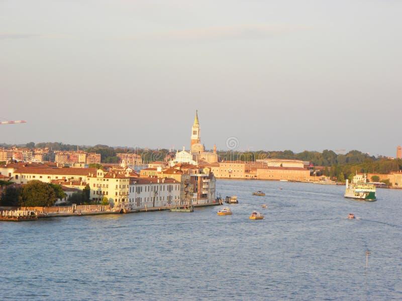 Visión panorámica, Venecia fotografía de archivo libre de regalías