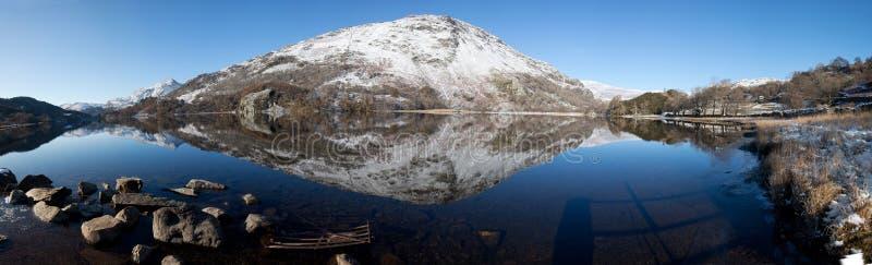 Visión para montar Snowdon fotos de archivo
