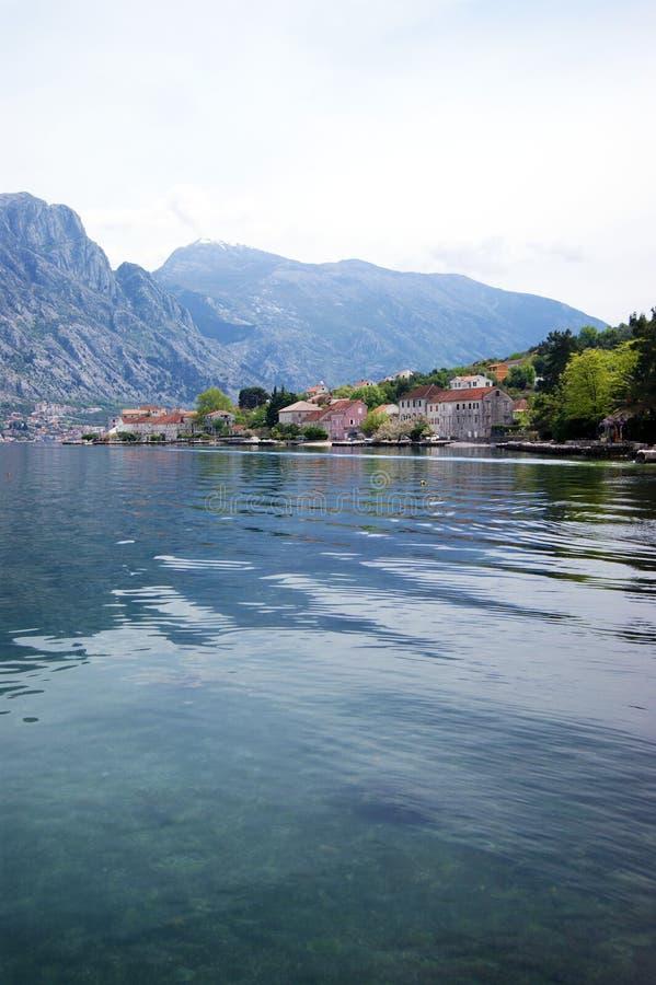 Visión Prcanj, Montenegro imágenes de archivo libres de regalías