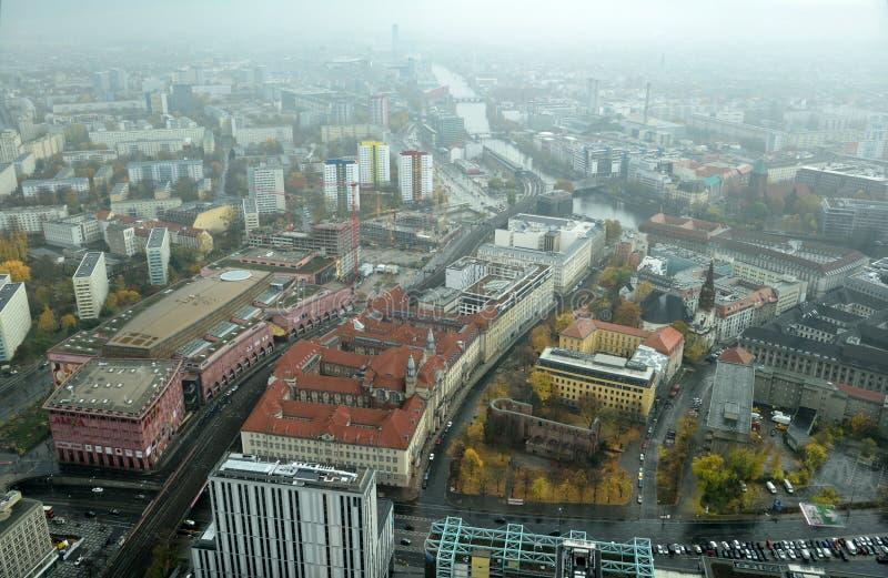 Visión sobre Berlín, Alemania fotografía de archivo libre de regalías
