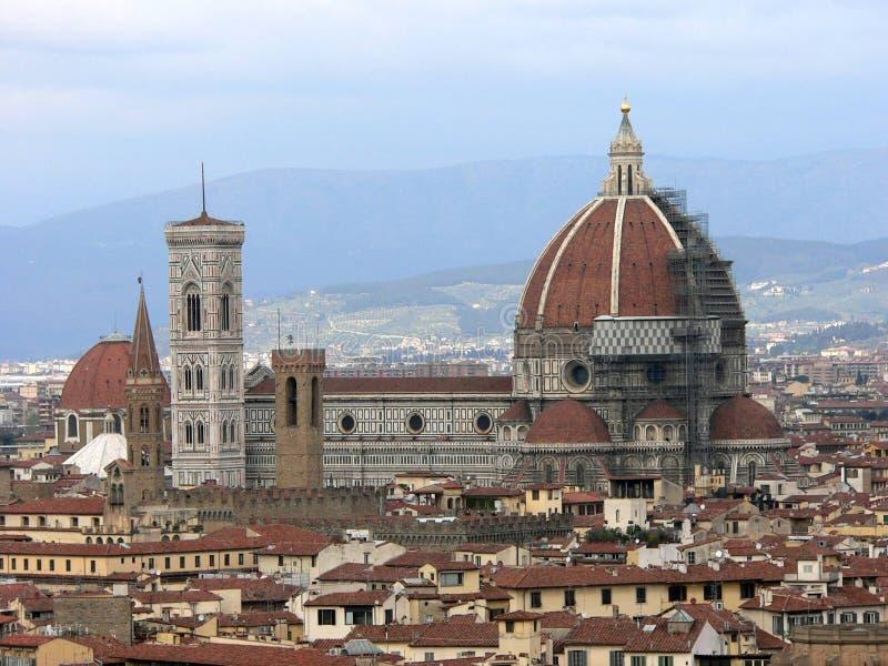 Visión sobre Florencia. fotografía de archivo libre de regalías