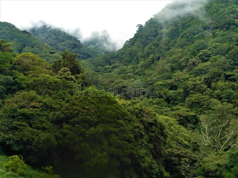 Visión sobre las colinas de Juan Castro Blanco National Park fotografía de archivo libre de regalías