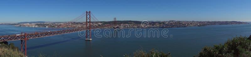 Visión sobre Lisboa foto de archivo libre de regalías