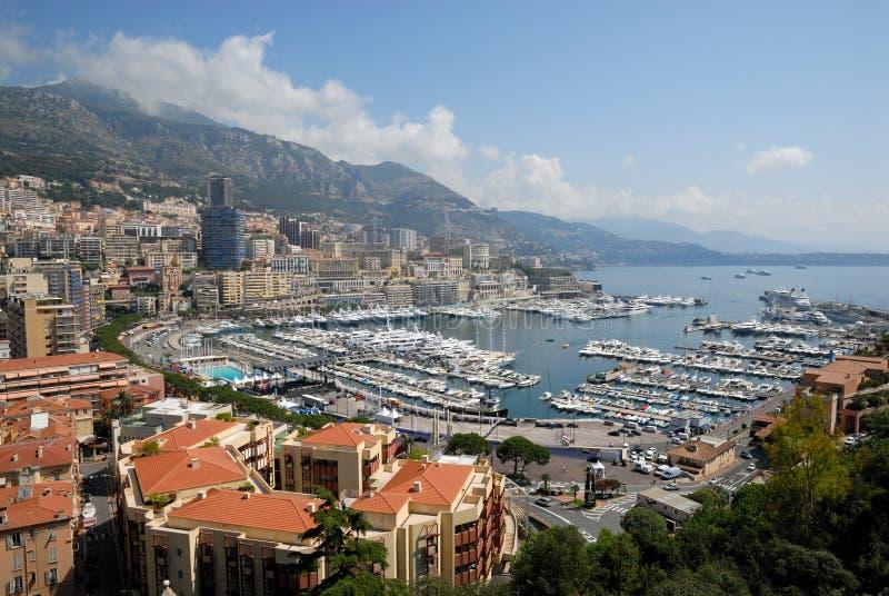 Visión sobre Monte Carlo imagen de archivo