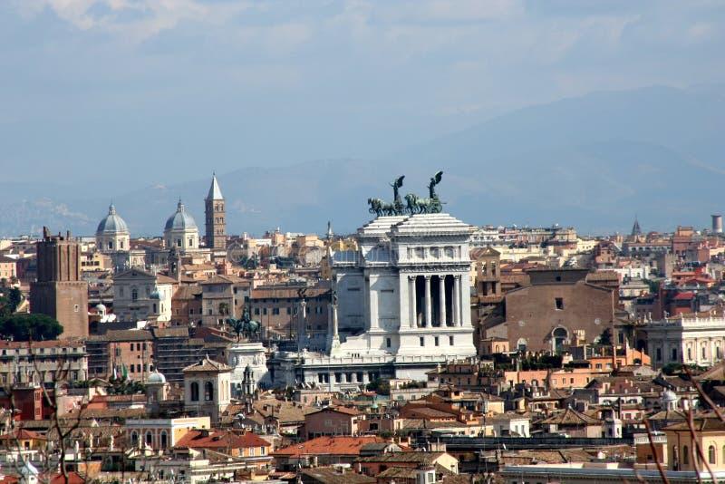 Visión sobre Roma foto de archivo
