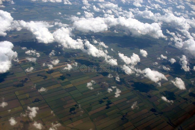 Visión superior imagen de archivo