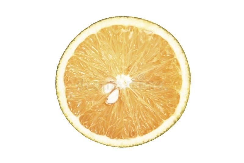 Visión superior anaranjada fotografía de archivo