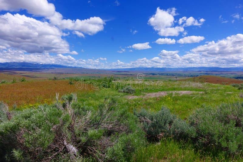 Visión a través de Midvale, Idaho fotografía de archivo