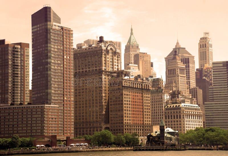 Visión urbana general imagenes de archivo