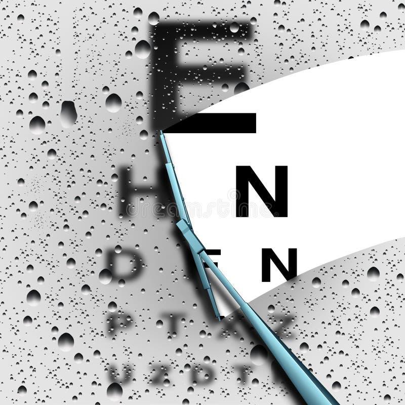 Visibilité claire illustration de vecteur