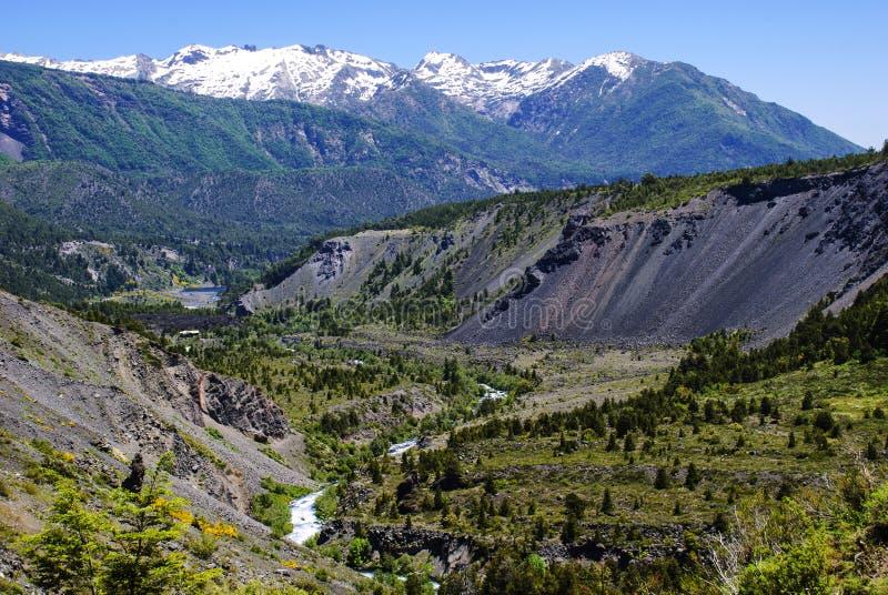 Canyon cordillère photographie stock libre de droits