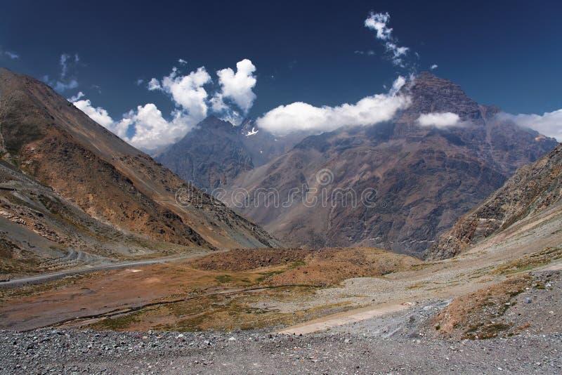 visibilité directe des Andes Chili Cordillère De photographie stock libre de droits