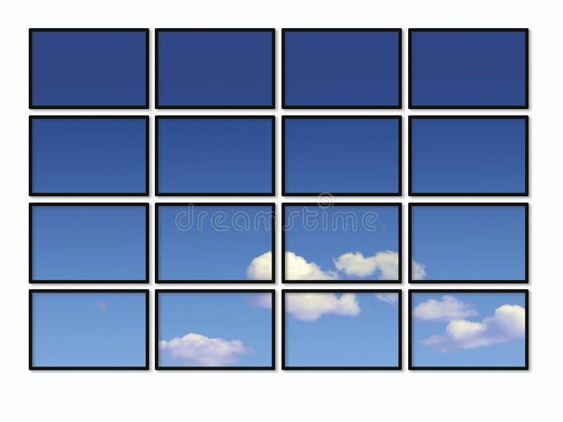 Visibilité normale illustration stock