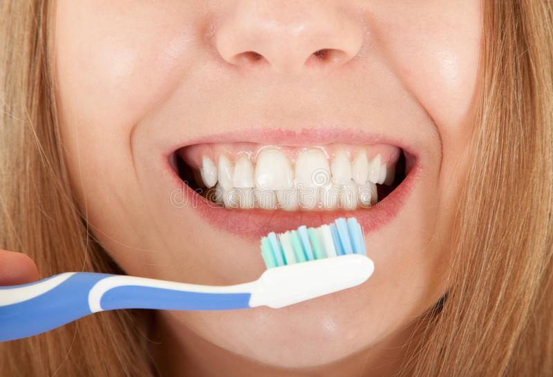 Visible Teeth Stock Photography