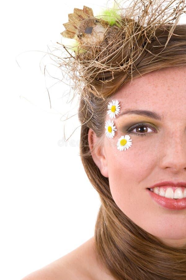 Visie van de lente stock afbeelding