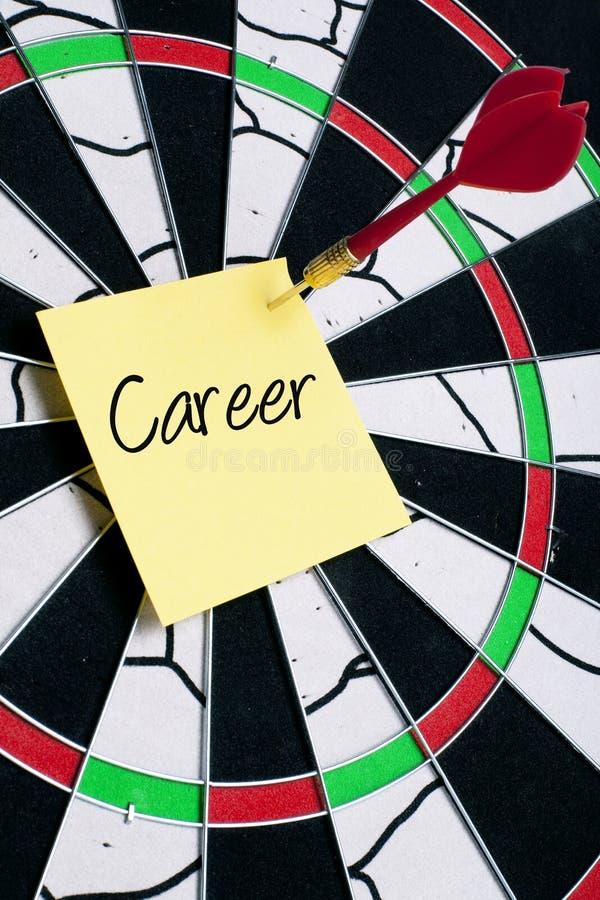 Visieren Sie Ihre Karriere an lizenzfreies stockbild