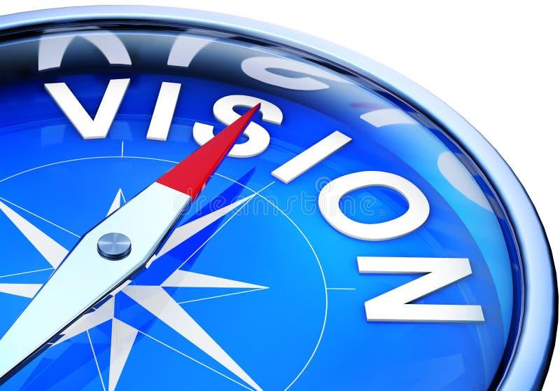 Vision vektor abbildung