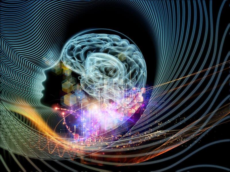 Vision av teknologi vektor illustrationer