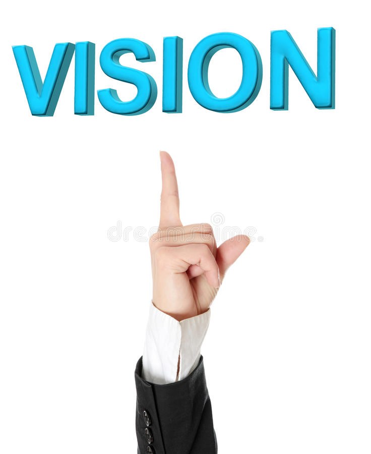 Vision concept. royalty free stock photography