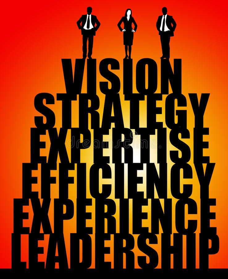 Vision de direction illustration stock