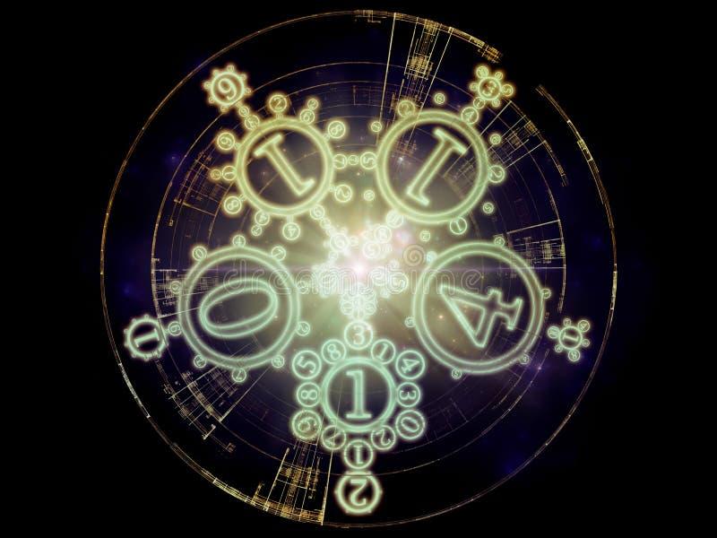 Vision der symbolischen Bedeutung vektor abbildung