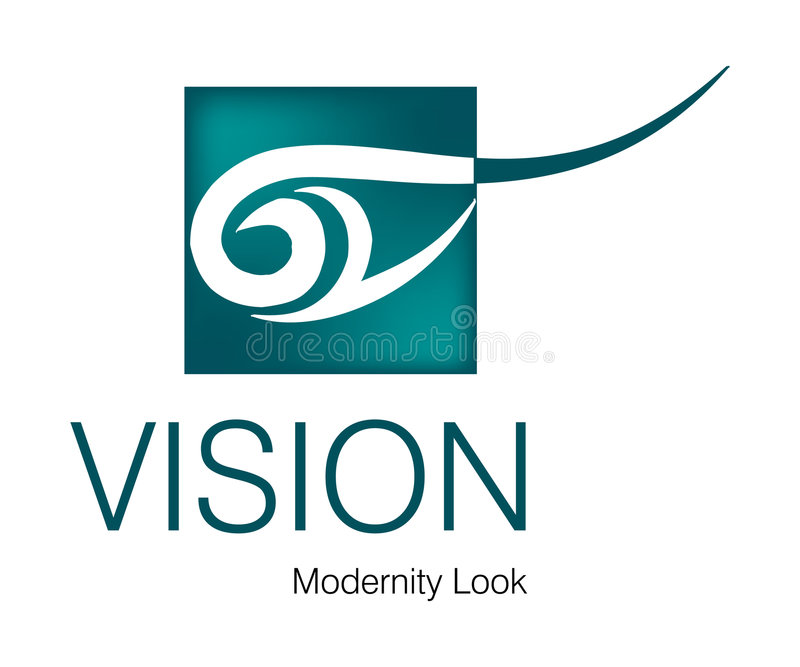 Download Vision Logo stock vector. Image of graphic, company, fresh - 5950341