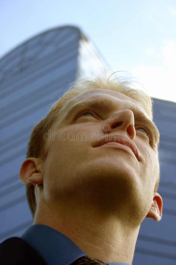 Vision of success stock images