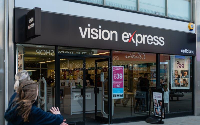 Vision Swindon expreso foto de archivo libre de regalías