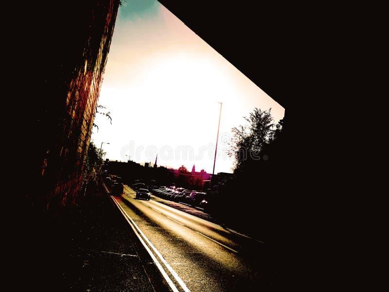 Vision télescopique photo stock