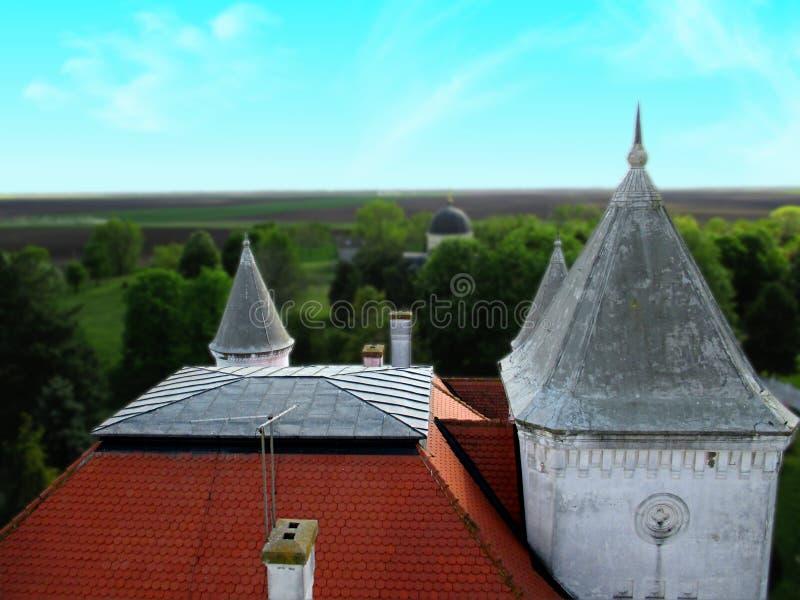 Visionario del castillo en Serbia fotografía de archivo libre de regalías