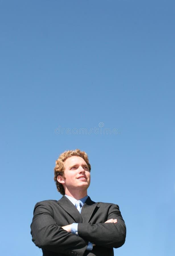 Visionario di affari fotografia stock libera da diritti